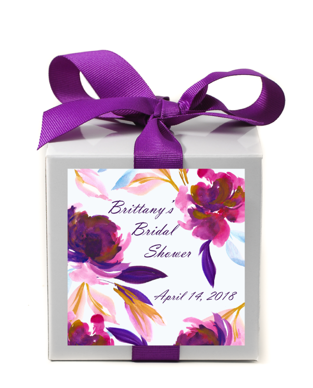 Dusk Bridal Shower Personalized Candle - Bridal Shower Favors - Premier Home & Gifts
