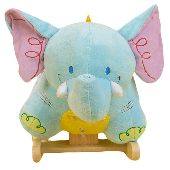 Blue Elephant Rocker