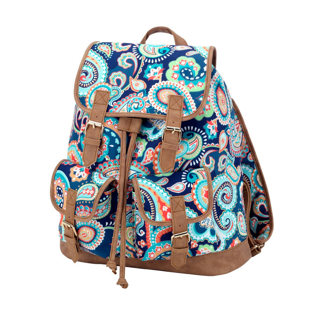 Emerson Paisley Campus Personalized Backpack - Premier Home & Gifts