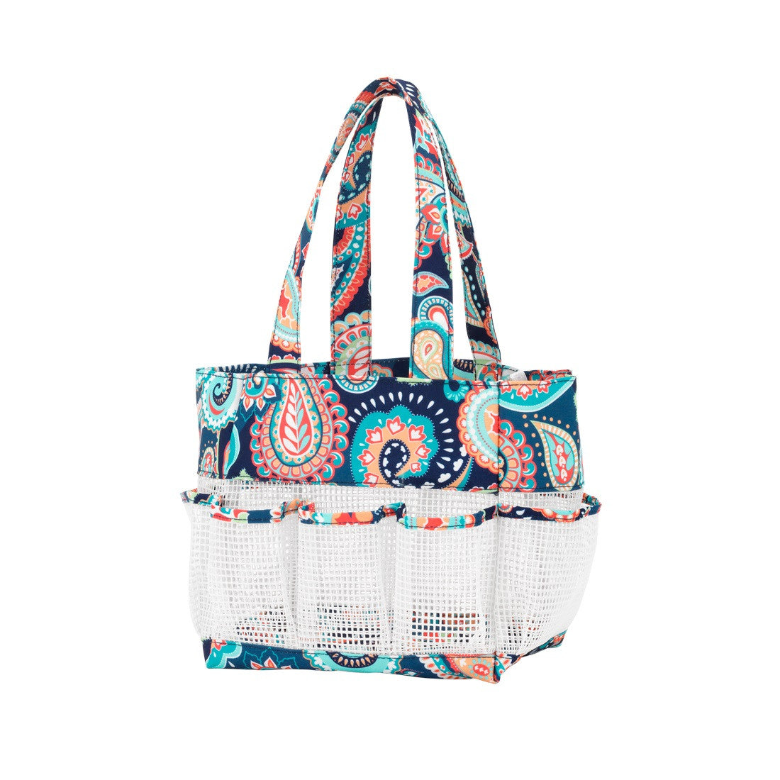 Emerson Paisley Personalized Shower Caddy