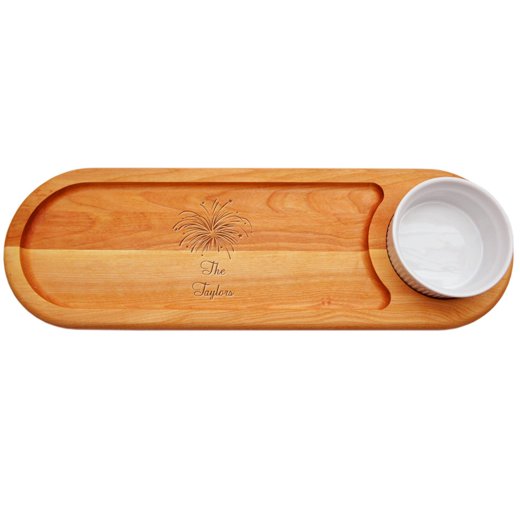 Fireworks Dip & Serve Board