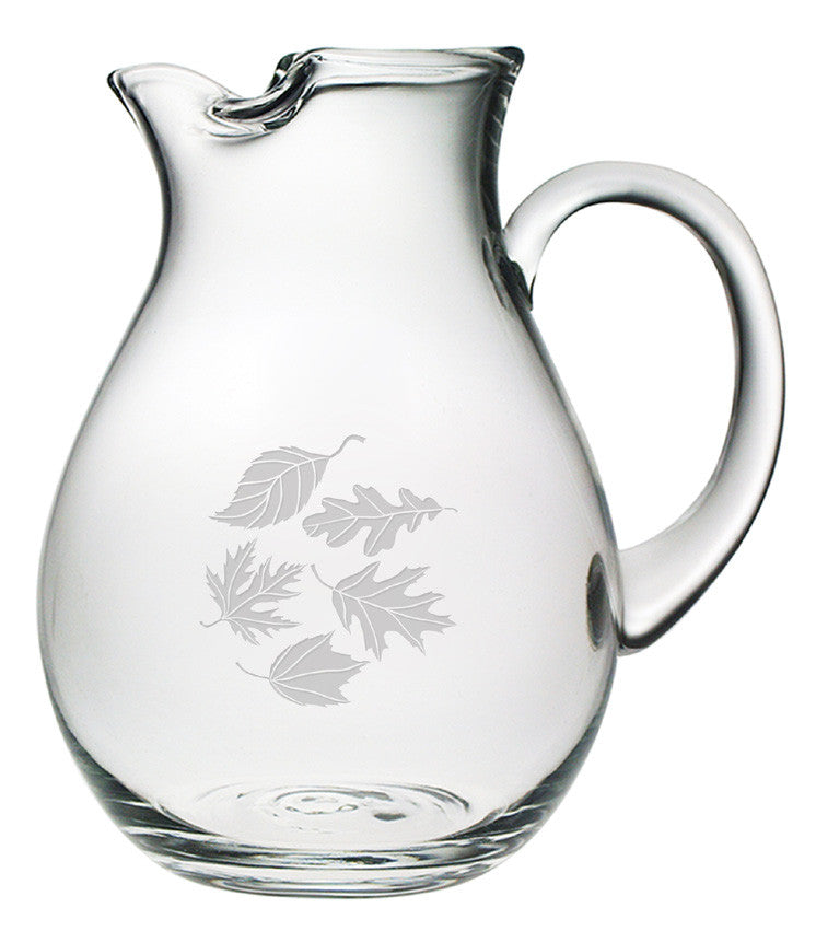 Falling Leaves Classic Round Pitcher