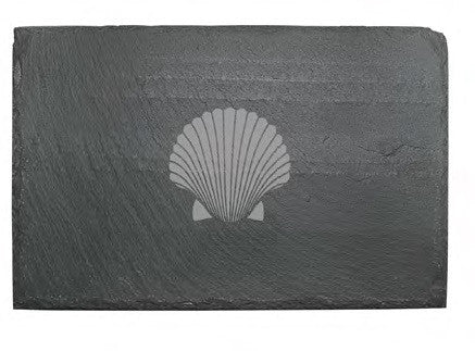 Fan Shell Slate Cheese Board