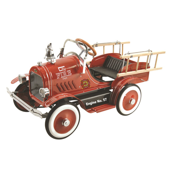 Fire Truck Roadster Pedal Car