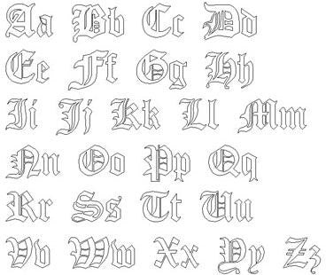Gothic Style Font
