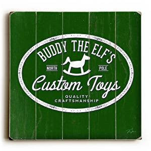 Buddy's Toys Wood Sign