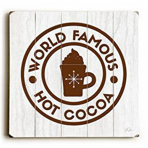 Hot Cocoa Wood Sign