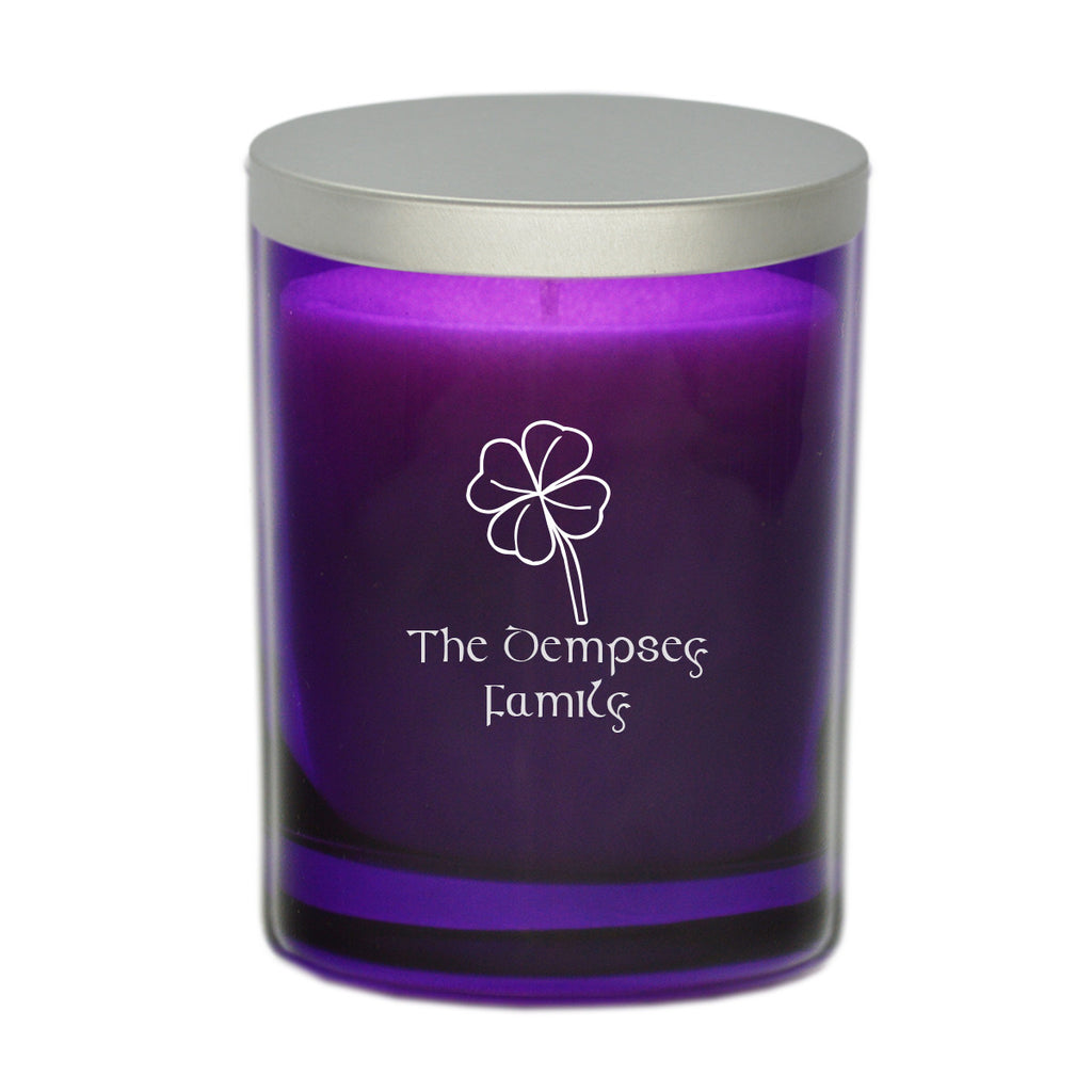 Four Leaf Clover Candle - Personalized