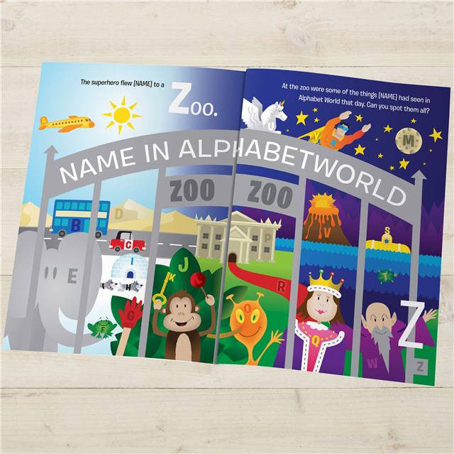ABC Adventure Book - Personalized