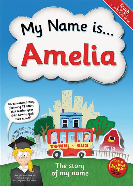 My Name Is... Book - Personalized