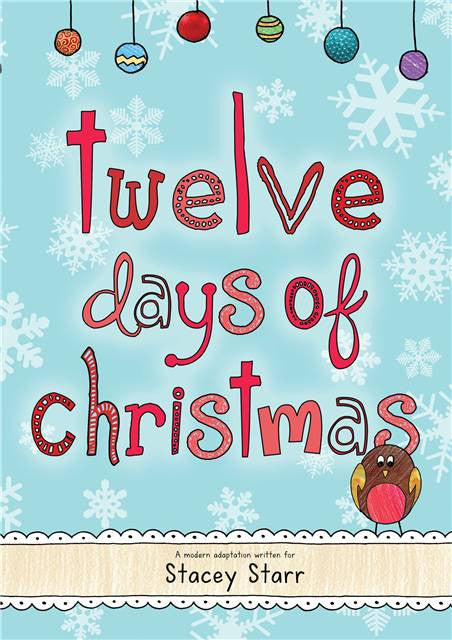12 Days of Christmas Book - Personalized with Child's Name