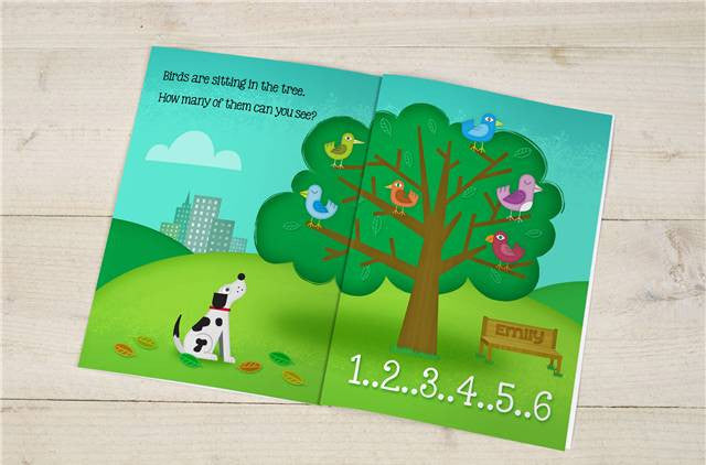 Counting Birthday Book - Personalized