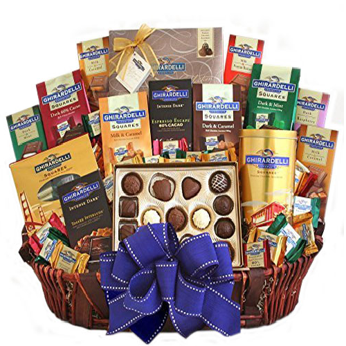 Ghiradelli Ultimate Gift Basket - Chocolate Gift Basket