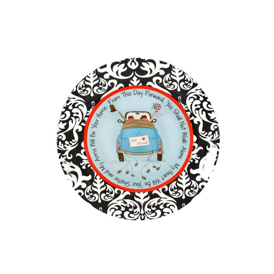 Just Married Commemorative Plate - Premier Home & Gifts