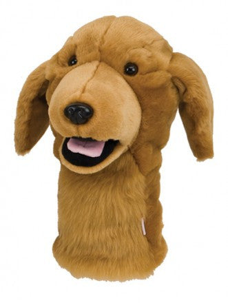 Golden Retriever Golf Head Cover