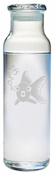 Goldie the Goldfish Water Bottle with Lid