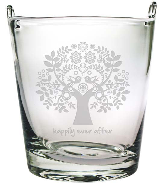 Happily Ever After Love Tree Ice Bucket