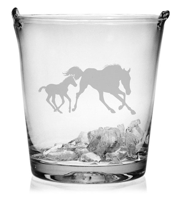 Mare and Foal Ice Bucket