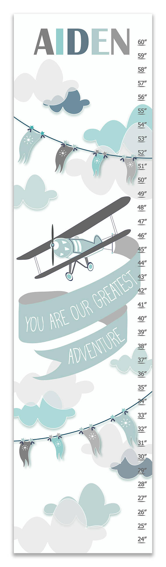 Growth chart for baby boys images free any chart examples airplane adventure personalized growth chart airplane adventure personalized growth chart baby boy gifts gifts for nursery nvjuhfo Images