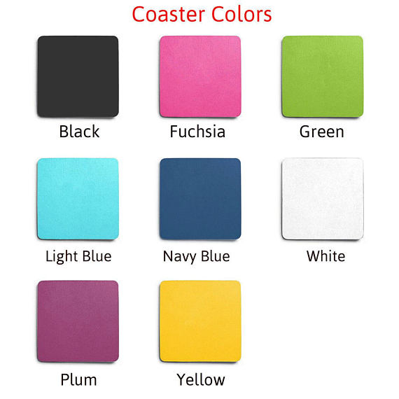 Coaster Color Choices