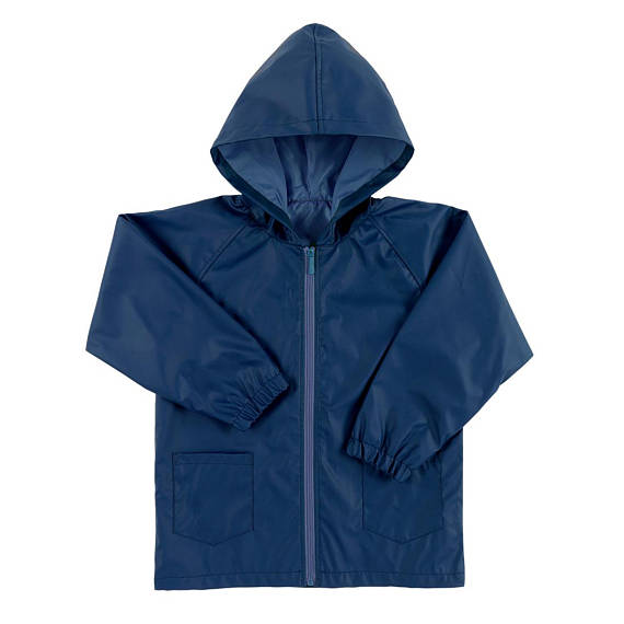 Kids' Rain Jacket - Navy - Monogrammed Gifts