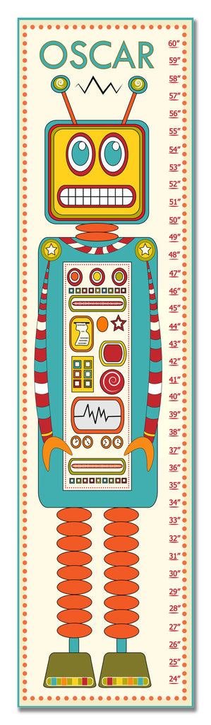 Robot Personalized Growth Chart