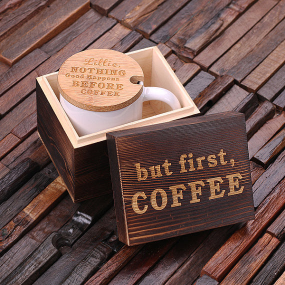 But First, Coffee Love Coffee Gift Set - Premier Home & Gifts
