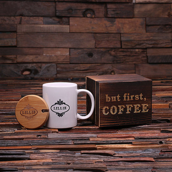 But First, Coffee Name Coffee Gift Set - Premier Home & Gifts