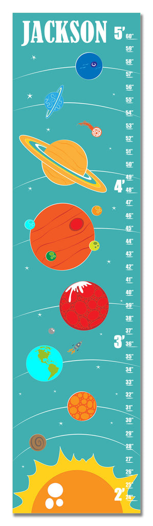 Solar System Personalized Growth Chart