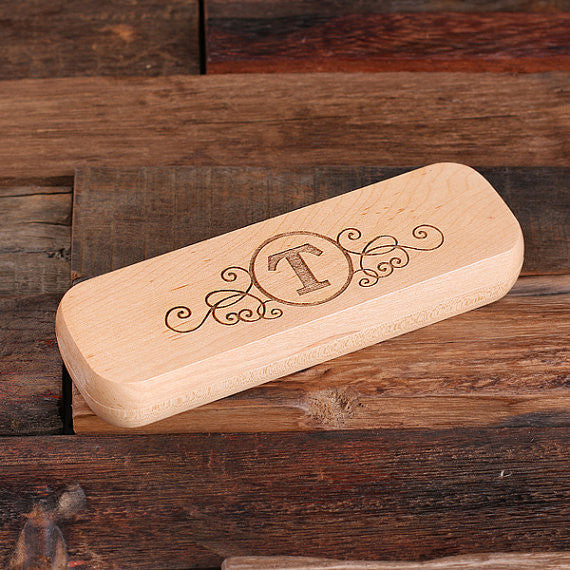 Personalized Pen and Wood Gift Box - Premier Home & Gifts