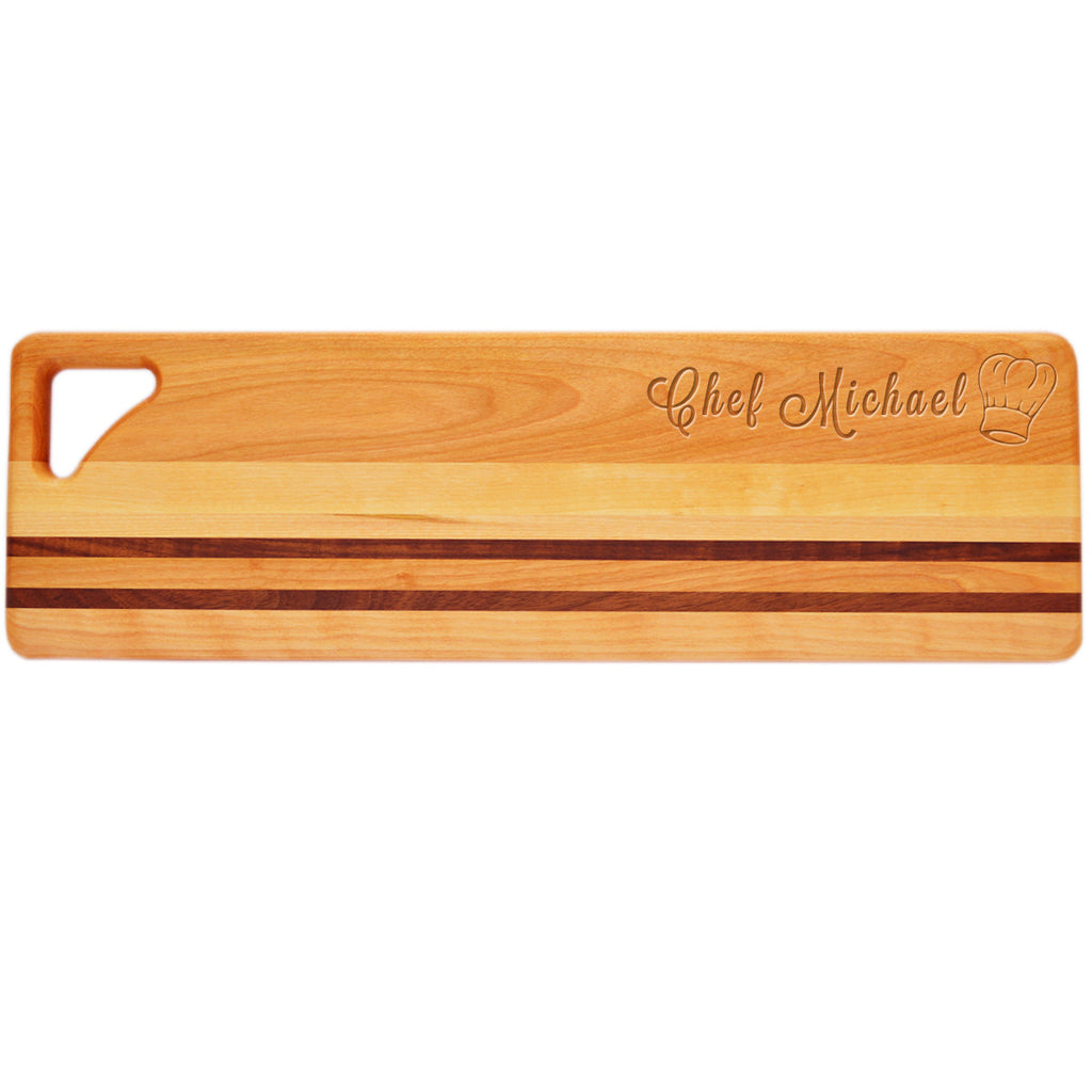 Chef Hat Long Serving Board
