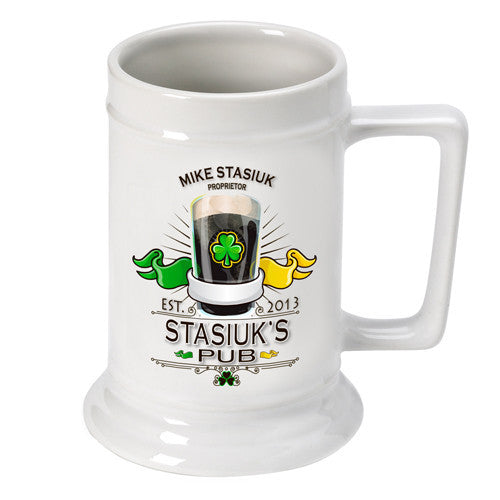 Irish Pub Beer Stein