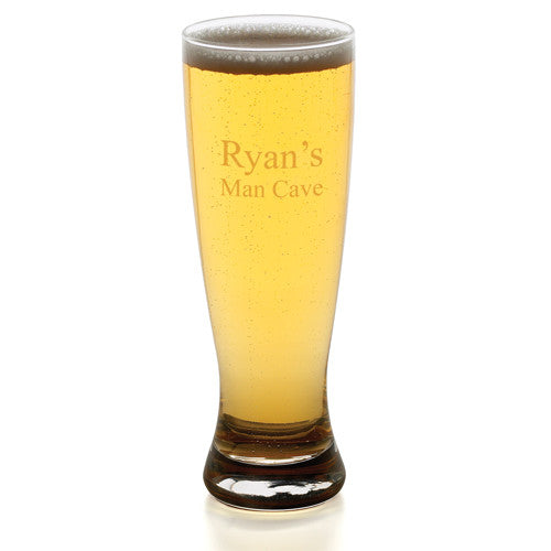 Grand Pilsner Glass ~ Personalized