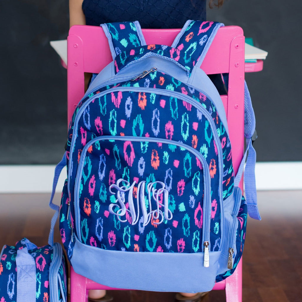 Laney Leopard Personalized Backpack - Premier Home & Gifts
