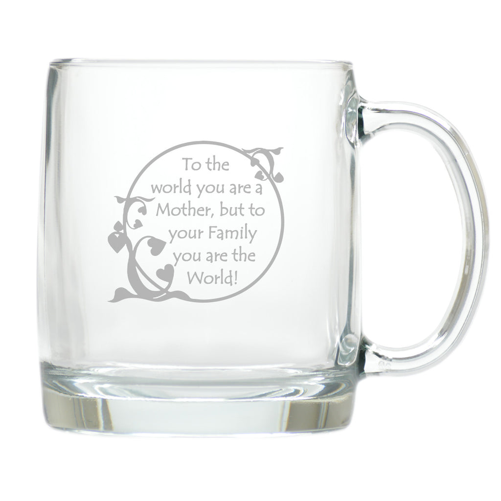 Mom is the World Coffee Mug - Premier Home & Gifts