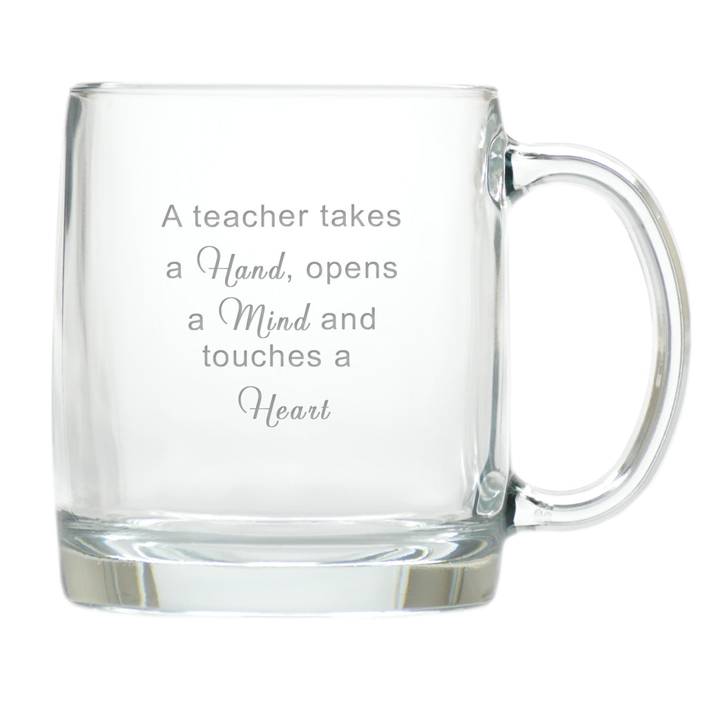 Hands, Minds and Hearts Teacher Coffee Mug