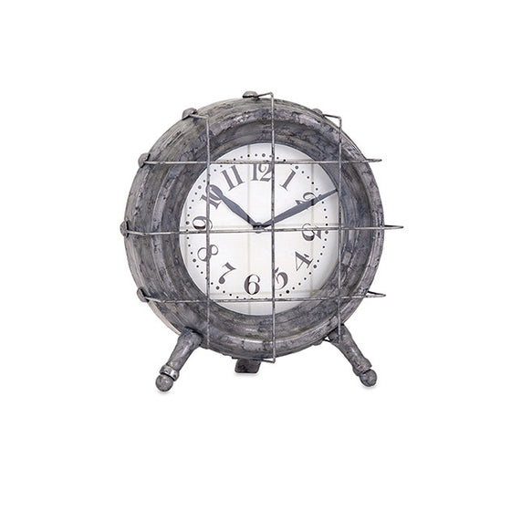 Grid Metal Clock