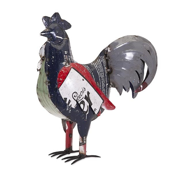 Brewster the Rooster Metal Decor