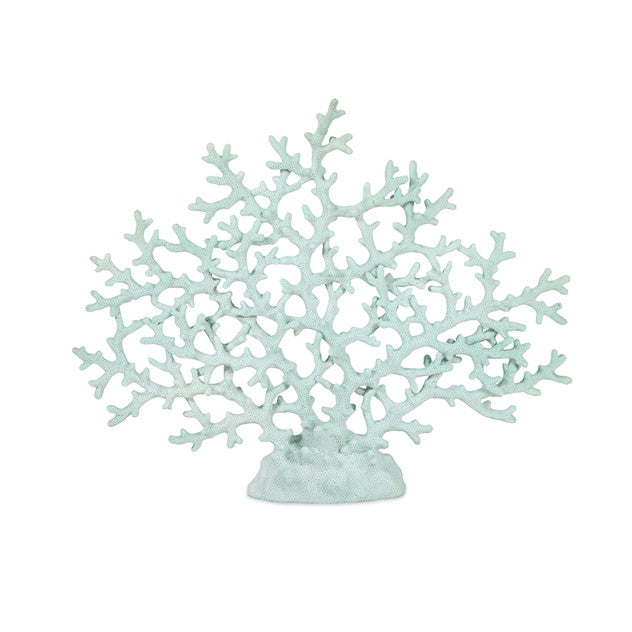 Haines Teal Coral Sculpture