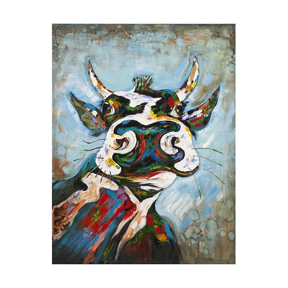 Curtis the Cow Oil Painting - Premier Home & Gifts
