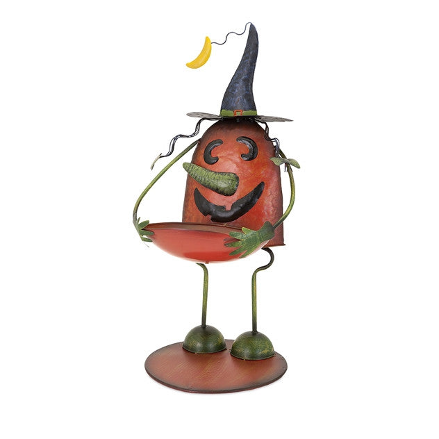 Pumpkin Witch Candy Holder