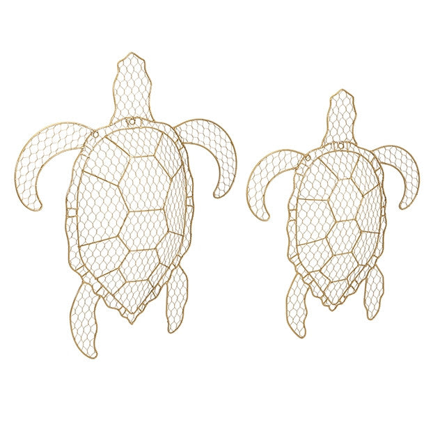 Ahalo Wire Turtles - Set of 2
