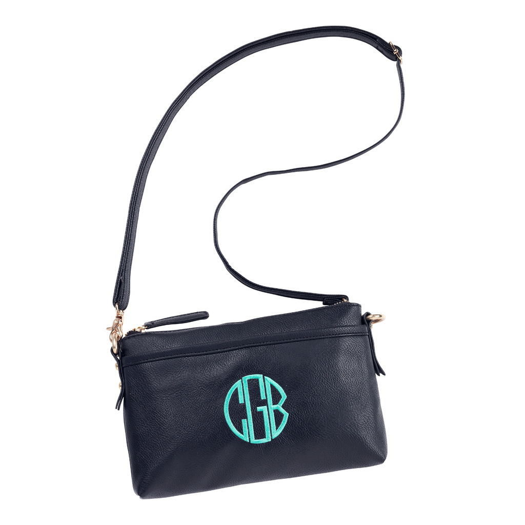 Leah Crossbody Bag - Black