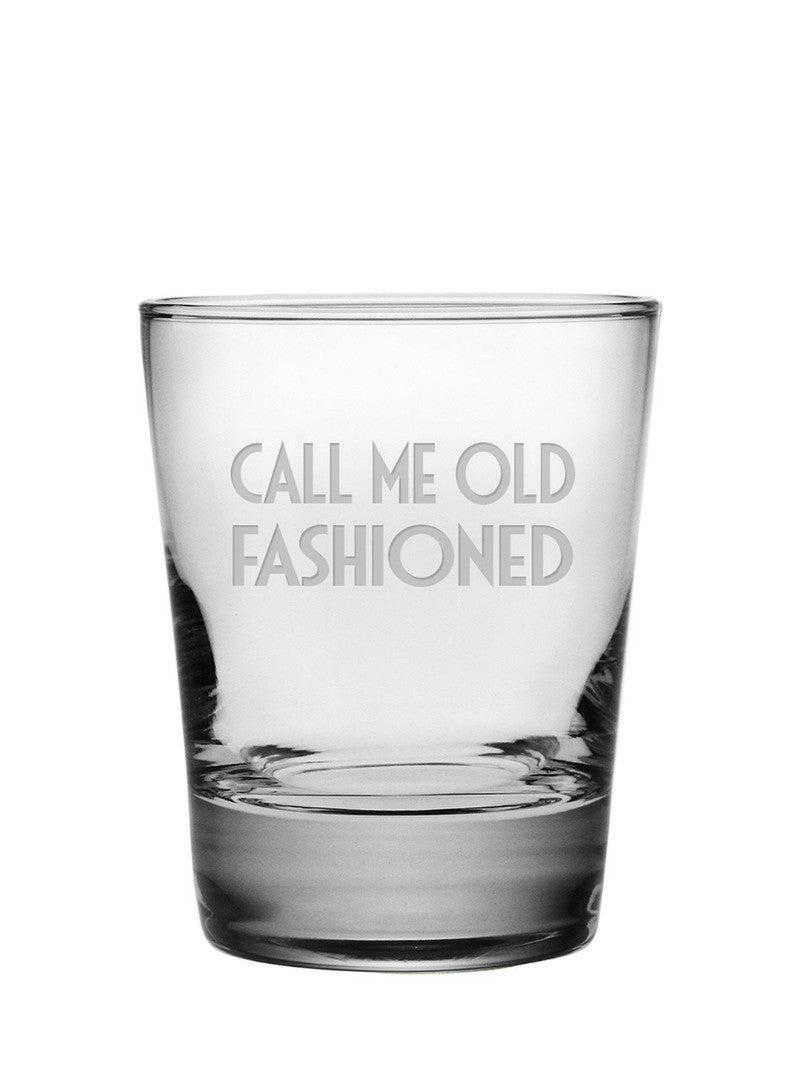 Call Me Old Fashioned Double Old Fashioned Glasses