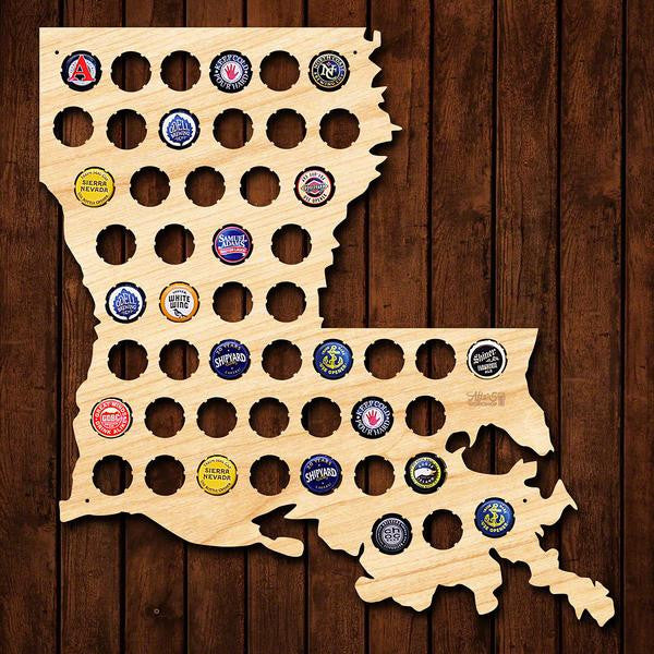Louisiana Beer Cap Sign - Premier Home & Gifts