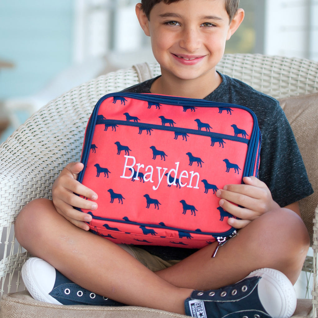 Doggone Personalized Lunch Bag - Lunch Boxes for Boys