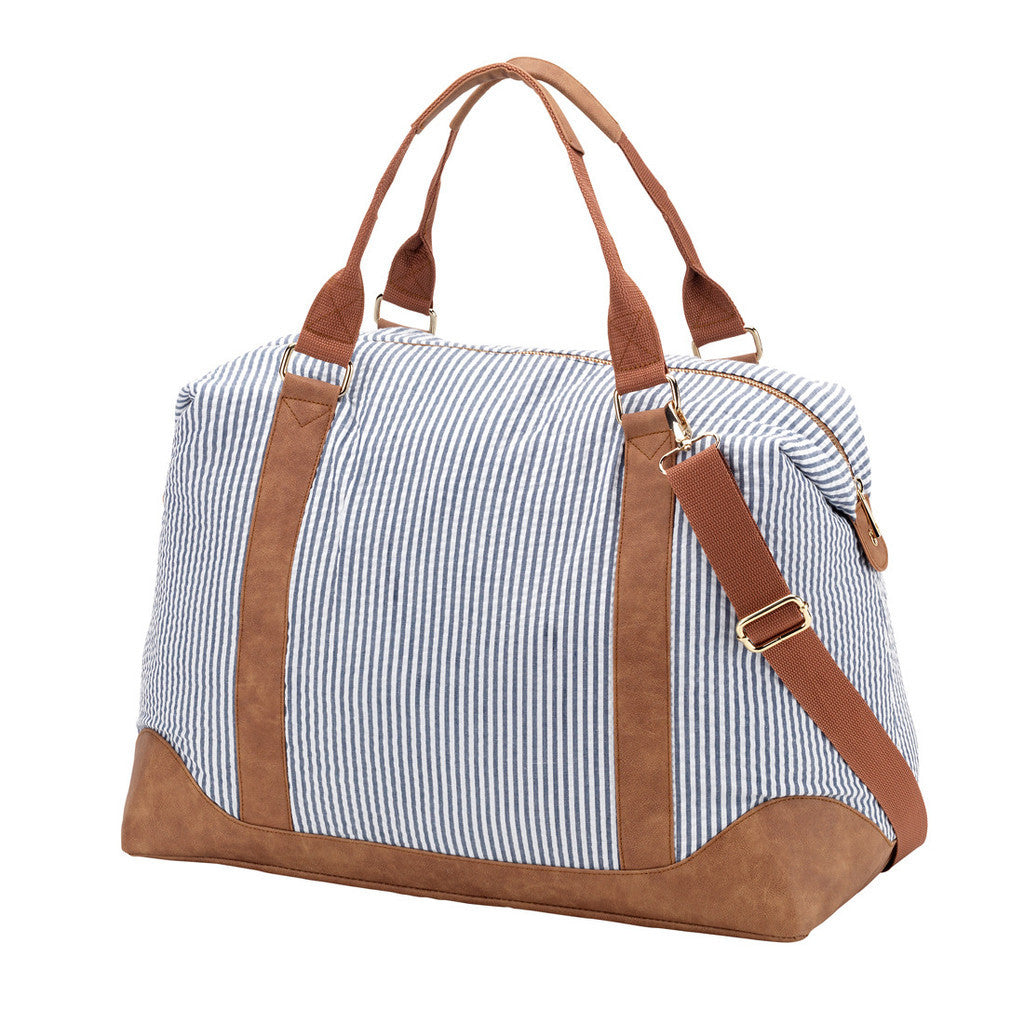 Lolita Weekender Bag - Seersucker | Premier Home & Gifts