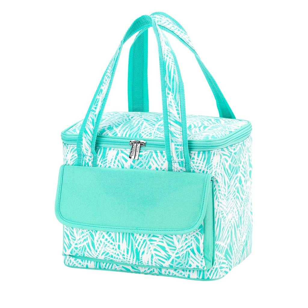 Poolside Palm Cooler Tote - Monogrammed Gifts