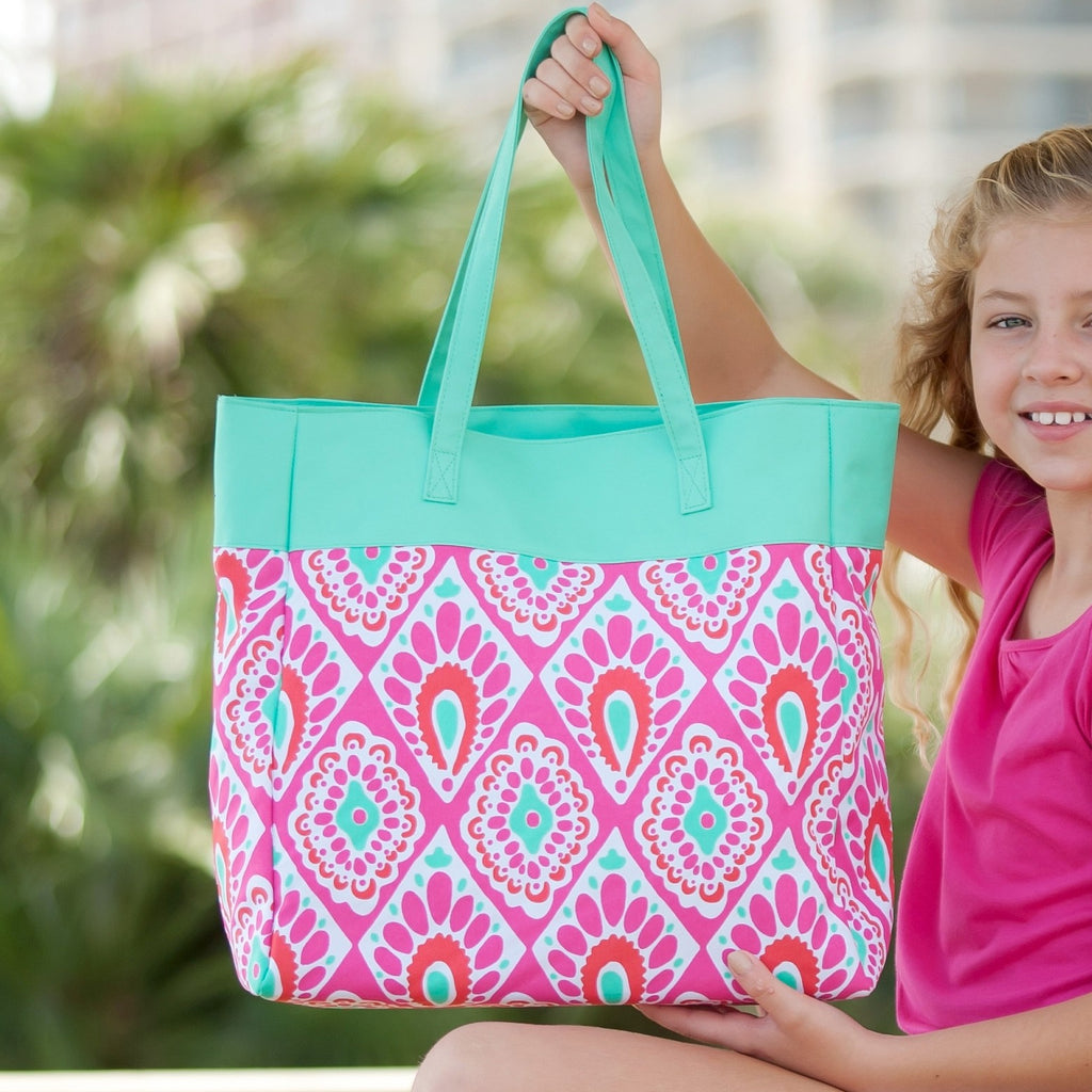 Beachy Keen Tote Bag - Monogrammed Gifts for Her