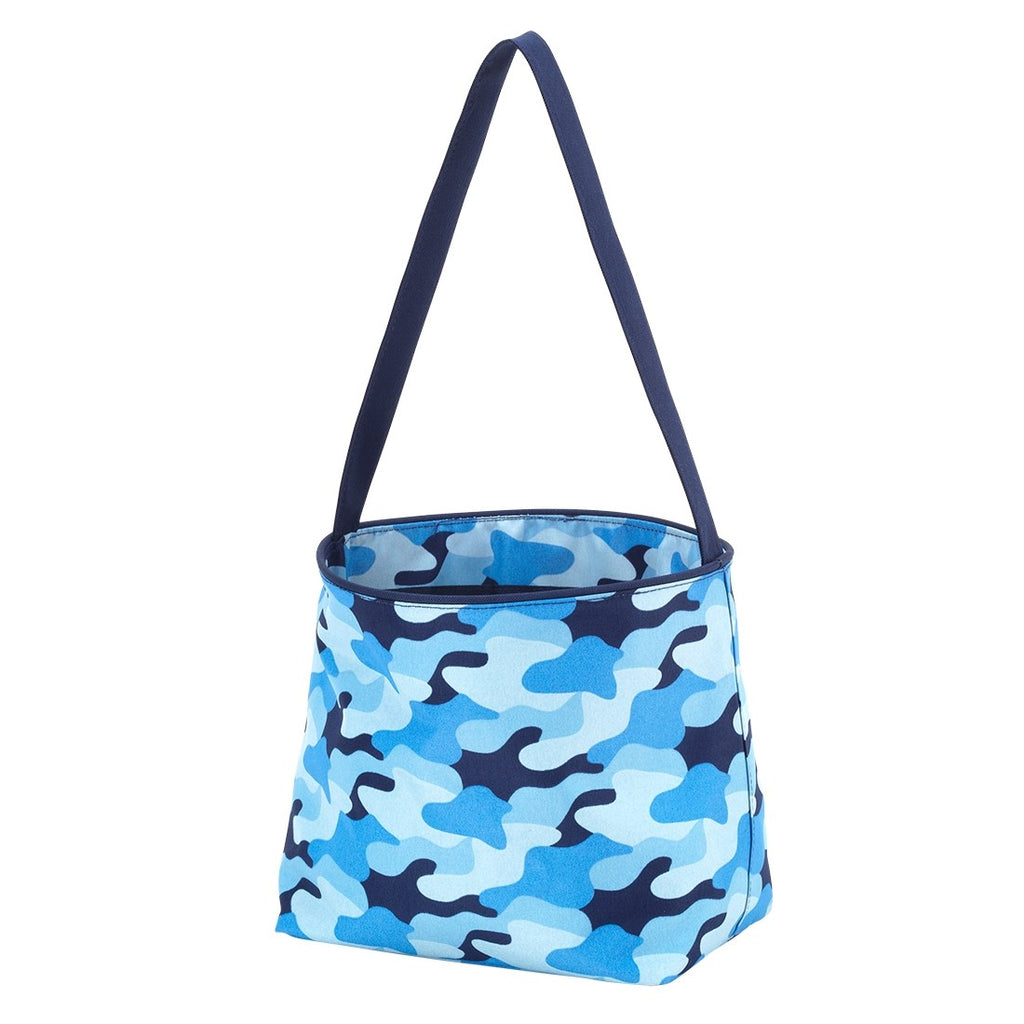 Blue Camo Easter Bucket - Easter Baskets - Easter Totes